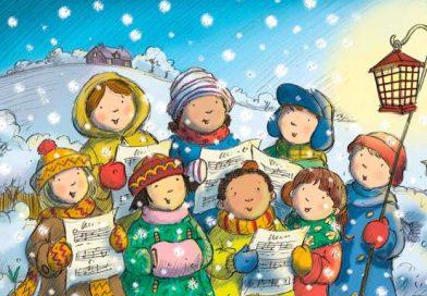 CAROL SINGING Dec 10 & 12