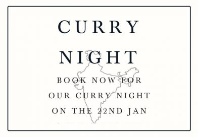 CURRY NIGHT: 22nd JAN @TheBell