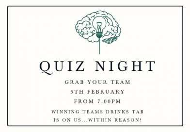 QUIZ NIGHT: 5th FEB @TheBell